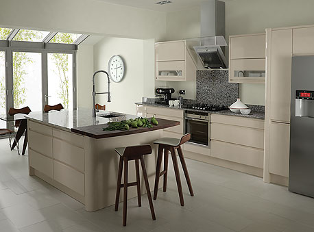 Contemporary Kitchen Sterling Carpentry