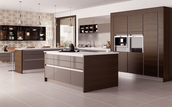 Contemporary kitchen sterling carpentry for Contemporary style kitchen cabinets